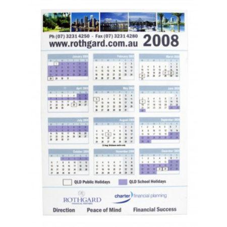 Brand Awareness with Promotional Calendars