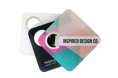 Coaster Bottle Opener for promotional products