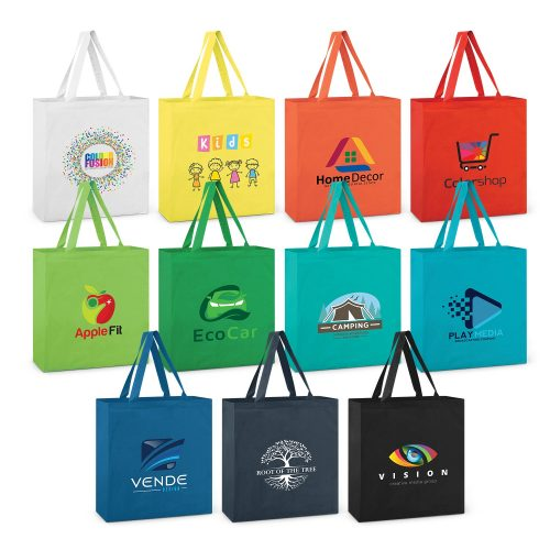 Coloured Carnaby Cotton Tote Bag